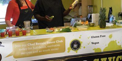 Chef Bernie's Cosy Caribbean Live COOKIN' | Blacknet UK