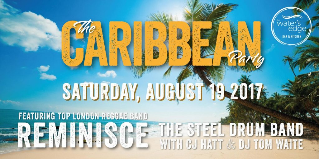 The Caribbean Party at The Water's Edge | Blacknet UK