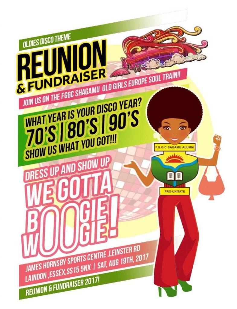 FGGC Shagamu Old Girls Soul train Reunion & Fundraiser | Blacknet UK
