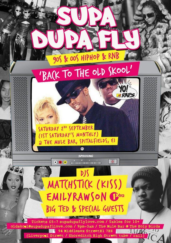 Supa Dupa Fly x Back to the Old Skool | Blacknet UK