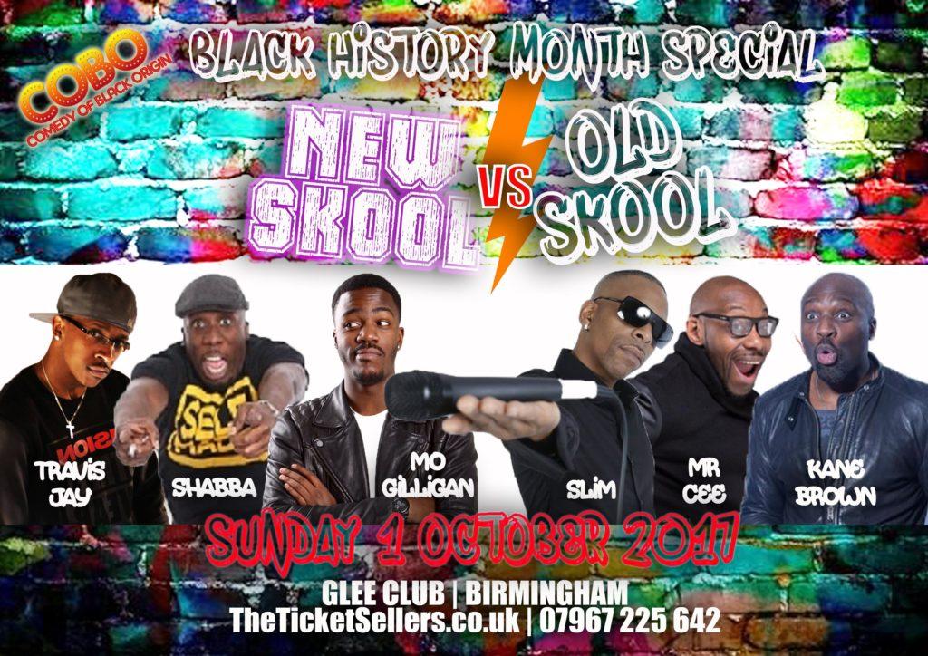 New Skool Vs Old Skool : Black History Month Special Comedy | Blacknet UK