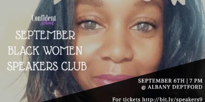 September Black Women Speakers Club | Blacknet UK