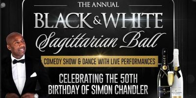 The Annual Black & White Sagittarian Ball With Comedy Show @ Reading Uni | Blacknet UK