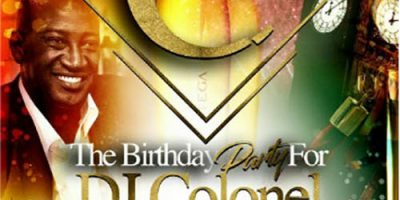 DJ-COLONEL Birthday Party