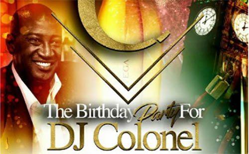 Dj colonels bday party | Blacknet UK