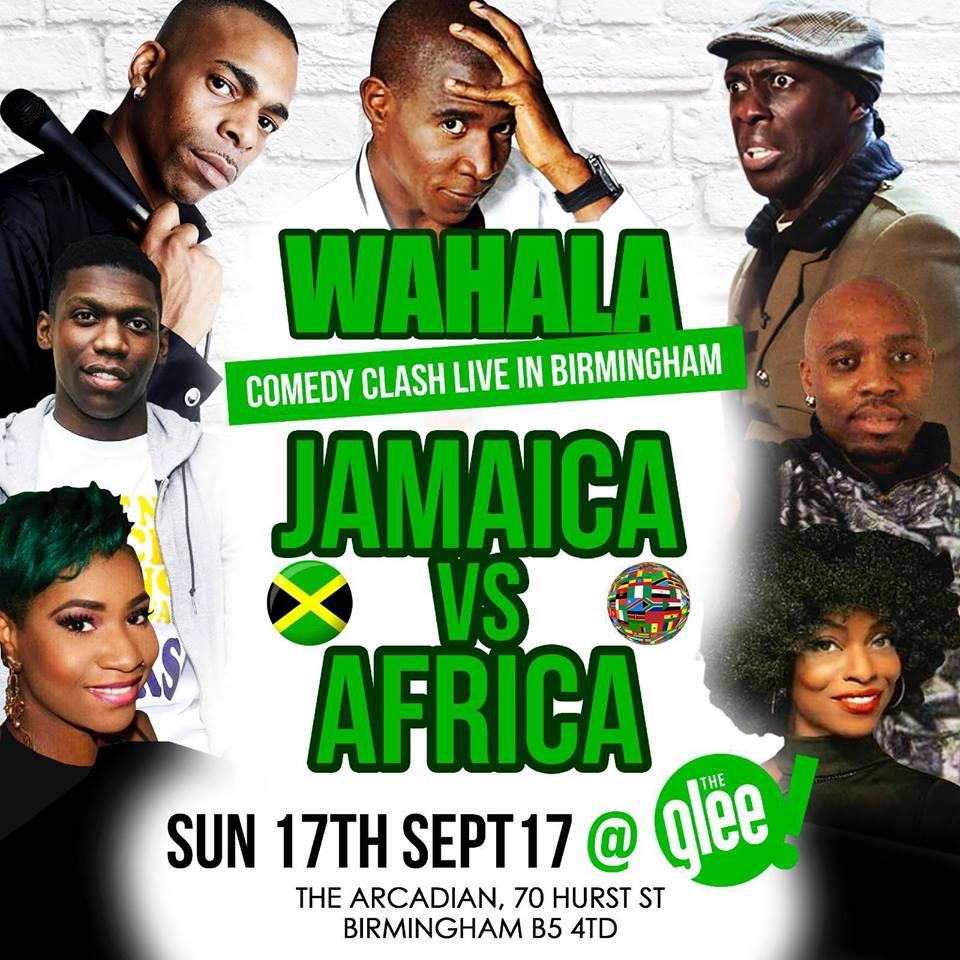 JAMAICA VS AFRICA : WAHALA   Blacknet UK