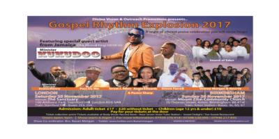 Gospel Rhythm Explosion 2017   Blacknet UK