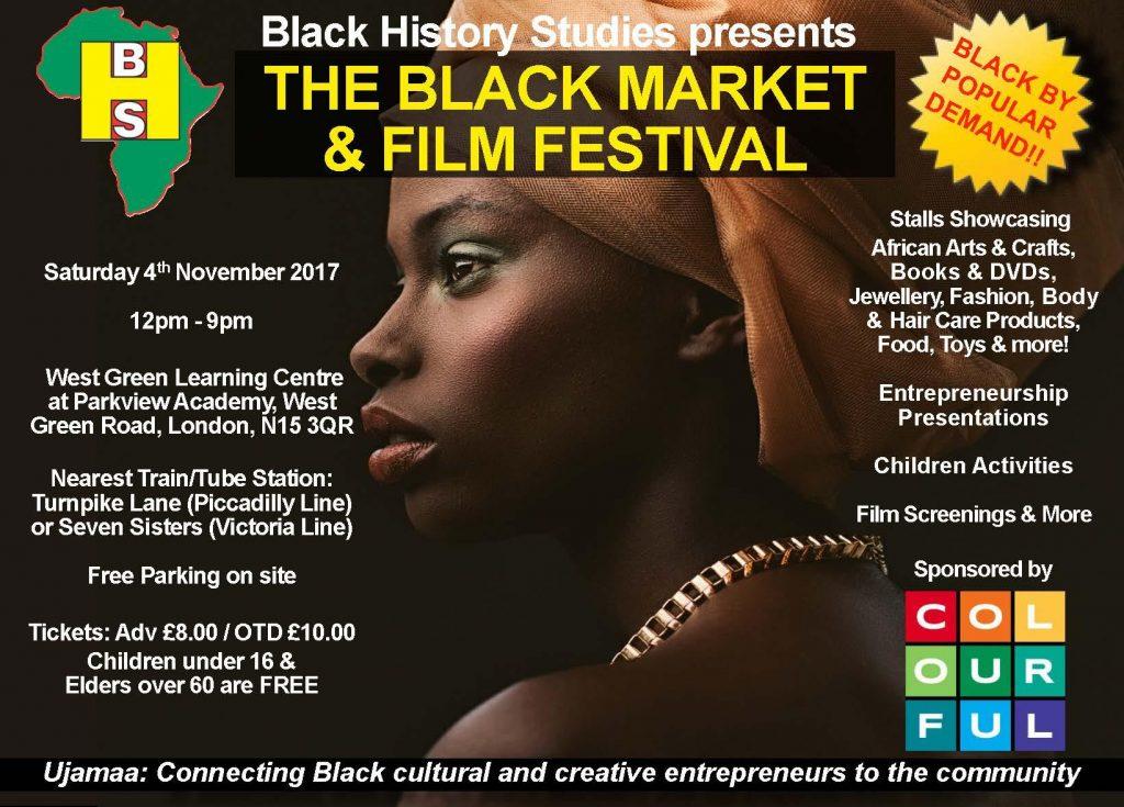 The Black Market & Film Festival - Saturday 4th November 2017 | Blacknet UK