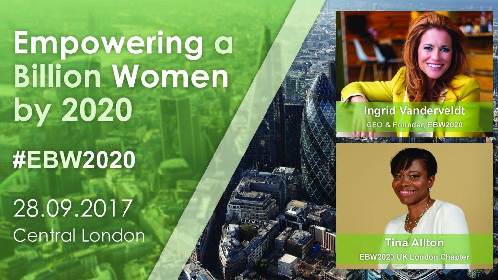EBW2020 - UK London Launch Celebration. 28.09.17 | Blacknet UK