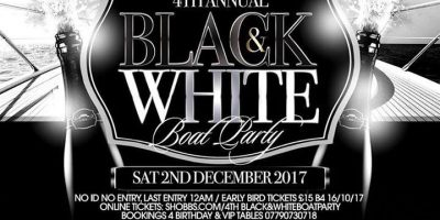 Black&White BoatParty | Blacknet UK