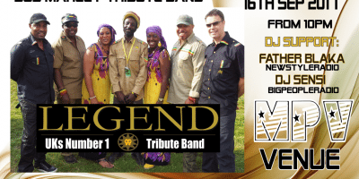 Legends Bob Marley Tribute Band | Blacknet UK