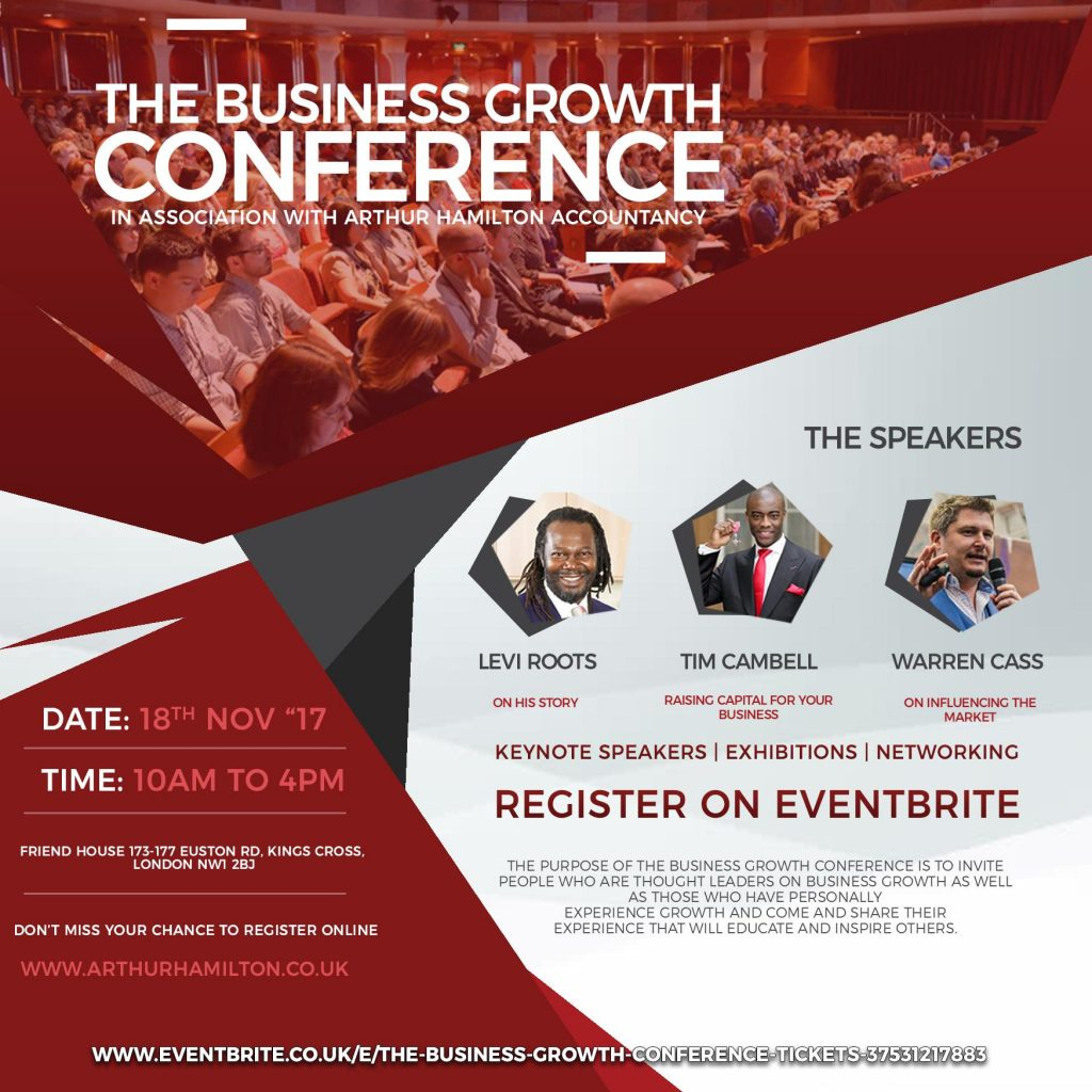 The Business Growth Conference   Blacknet UK