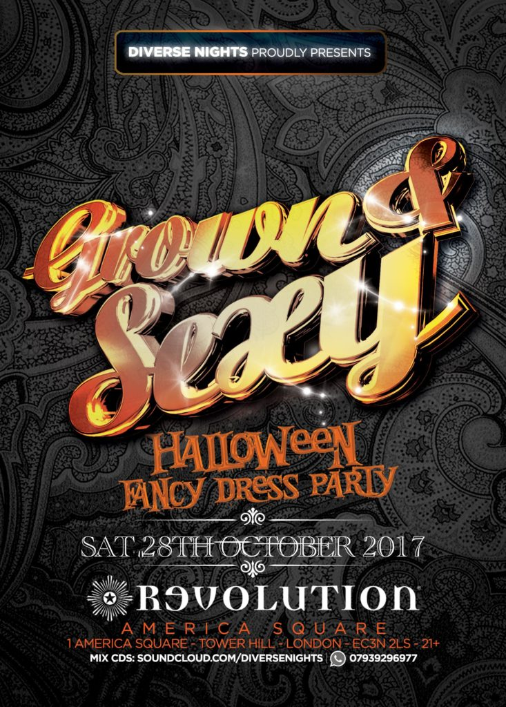 GROWN & SEXY - Fancy Dress Party | Blacknet UK