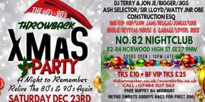 CLUB 8090 THROWBACK CHRISTMAS PARTY | Blacknet UK