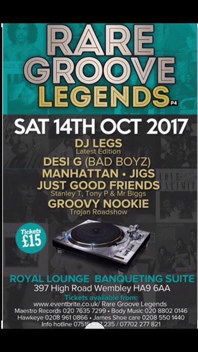 Rare Groove Legends 4   Blacknet UK