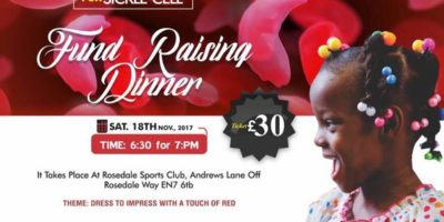 5th Annual Hope for Sickle Cell Dinner and Dance   Blacknet UK