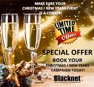 Christmas and News Years Good Quality Events Advertising Campaign Special Offer