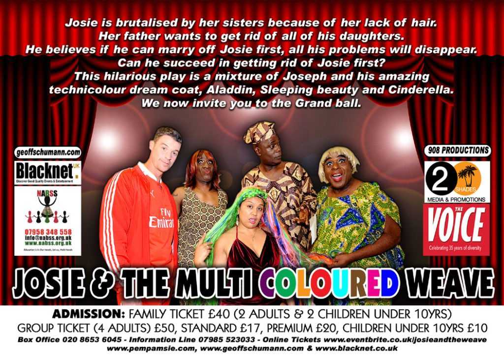 Josie & The Multi Coloured Weave