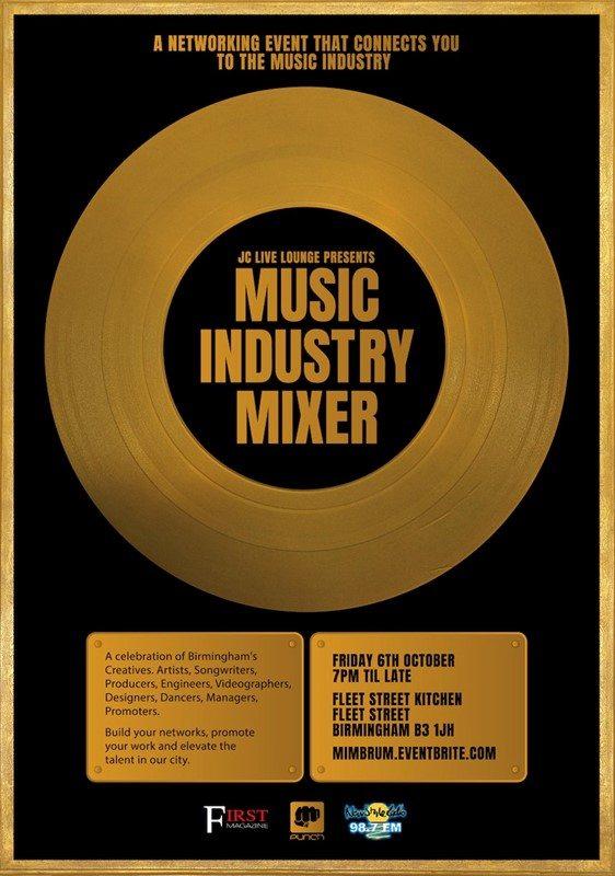 Birmingham's First Music Industry Mixer Event | Blacknet UK