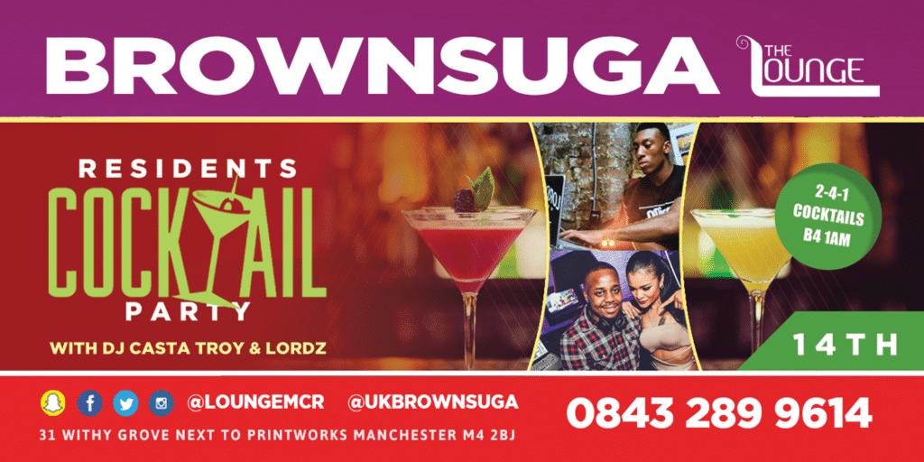 Brownsuga Cocktail Party | Blacknet UK