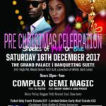 Awedis Promotions Pre-Christmas Dance 2017 | Blacknet UK