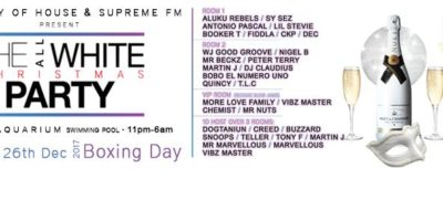 SUPREME RADIO ALL WHITE XMAS PARTY | Blacknet UK
