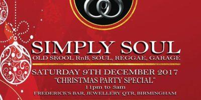 Simply Soul -Birmingham Christmas Party | Blacknet UK