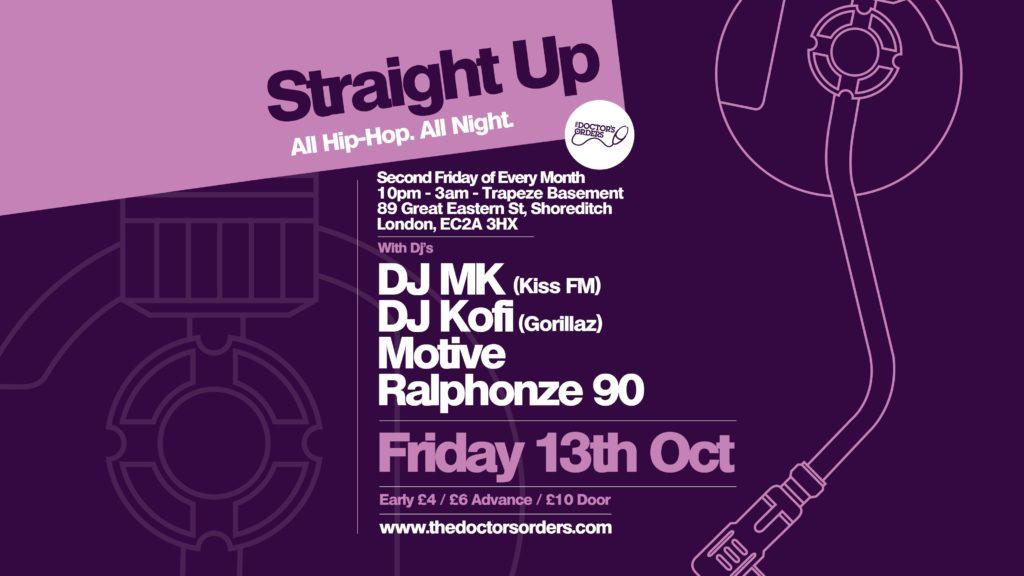 Straight Up: All Hip-Hop – All Night | Blacknet UK