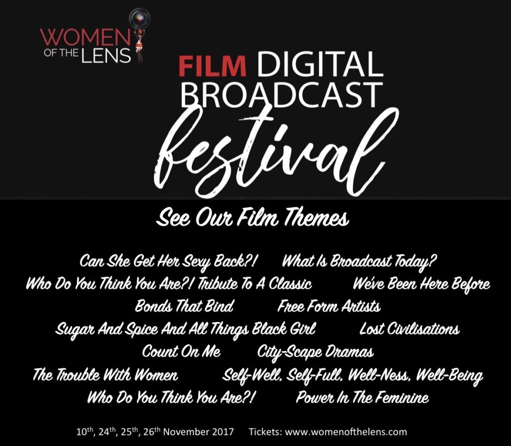 Women of the Lens Film Digital Broadcast Festival Themes