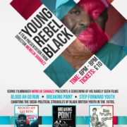 YOUNG REBEL BLACK Iconic Film Rarely seen
