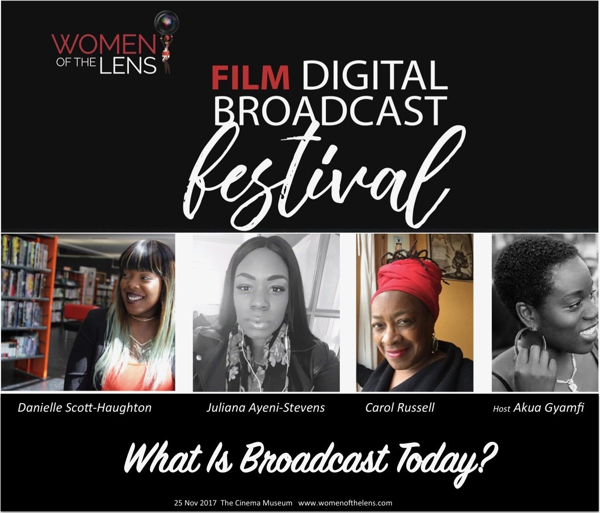 Women of the Lens Film Digital Broadcast Festival Themes - what is broadcast today line up