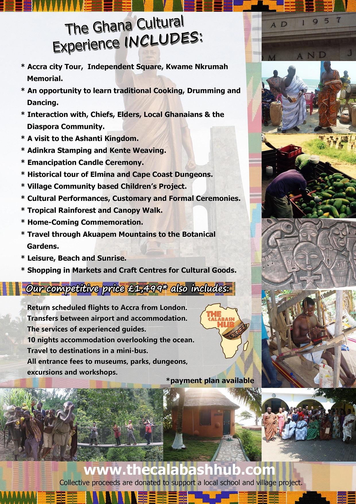 Ghana Cultural Experience 2018 - Blacknet UK