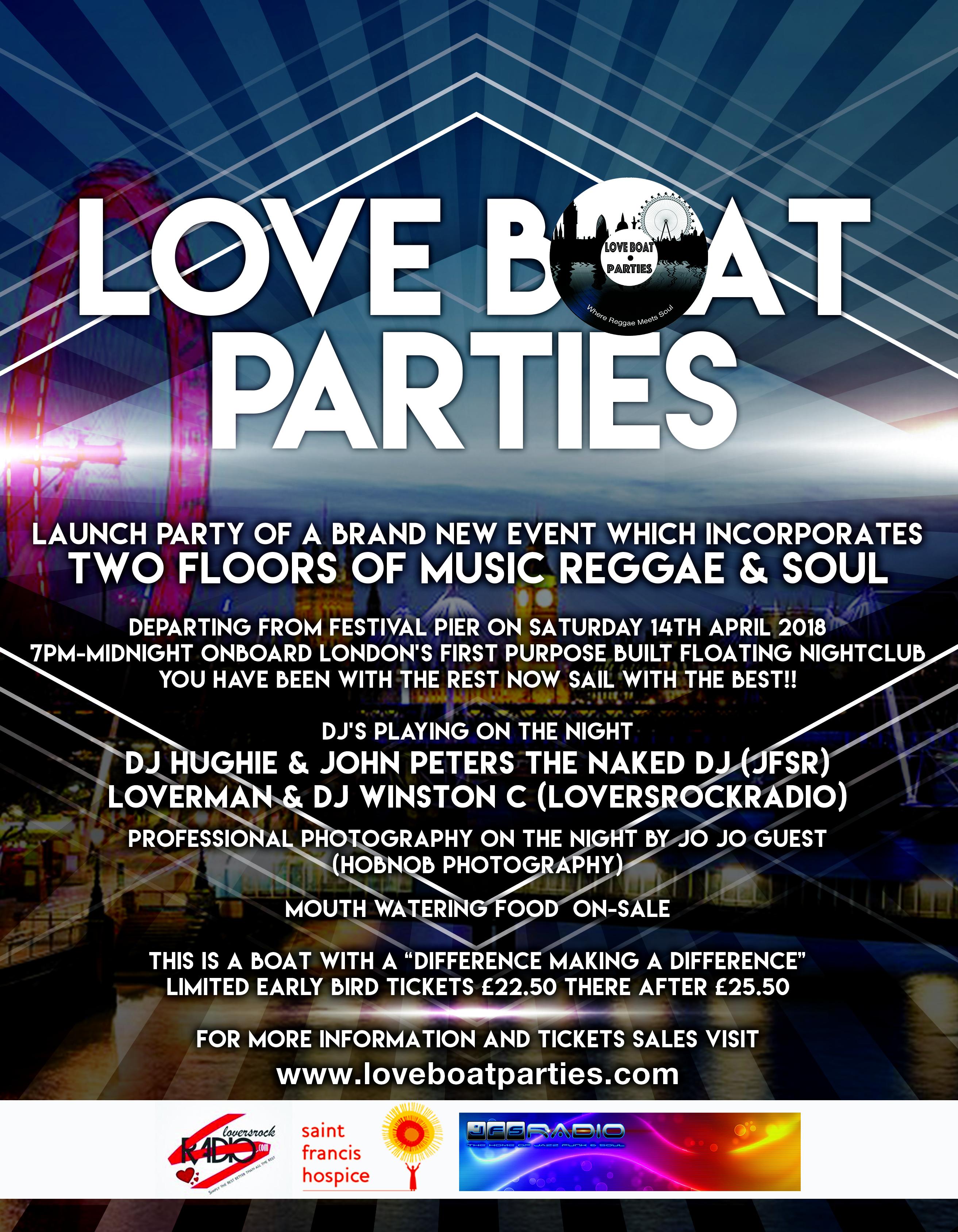 Launch of Love Boat Parties - Blacknet UK