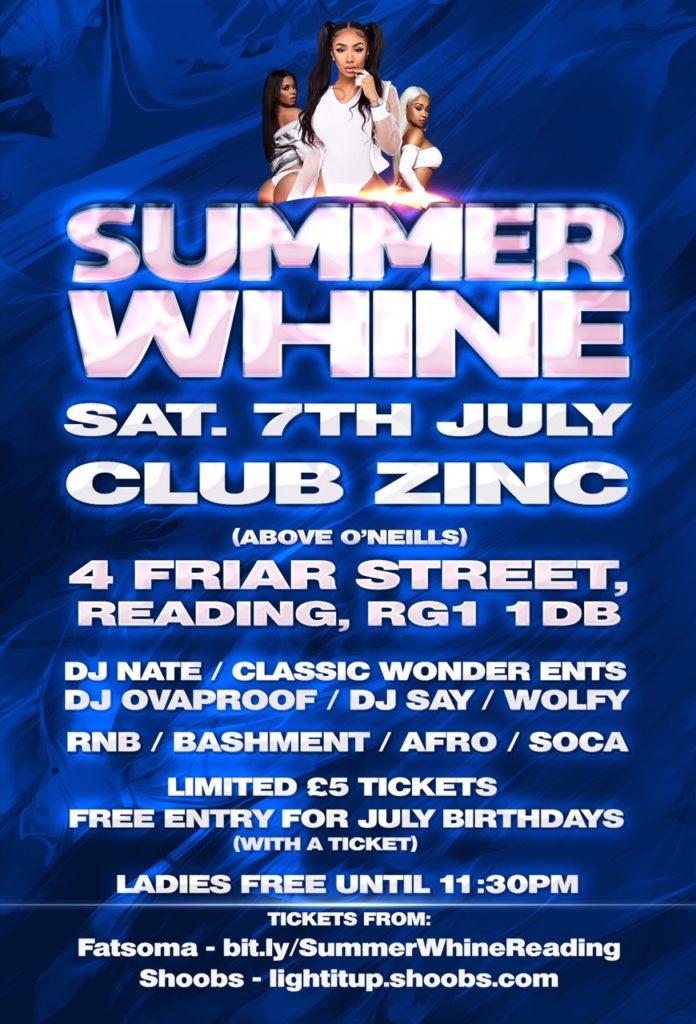 SUMMER WHINE WITH DJ NATE - Blacknet UK