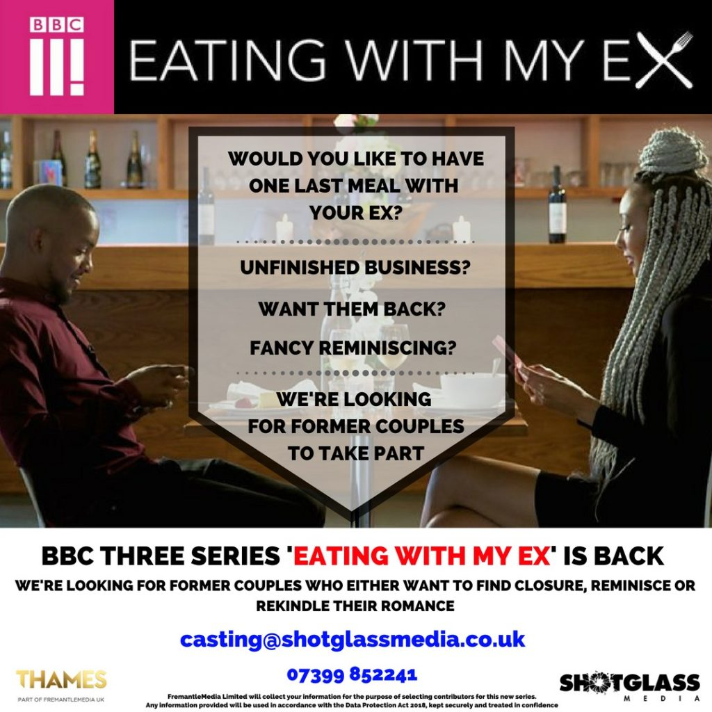 Fancy having dinner with your Ex? - Blacknet UK