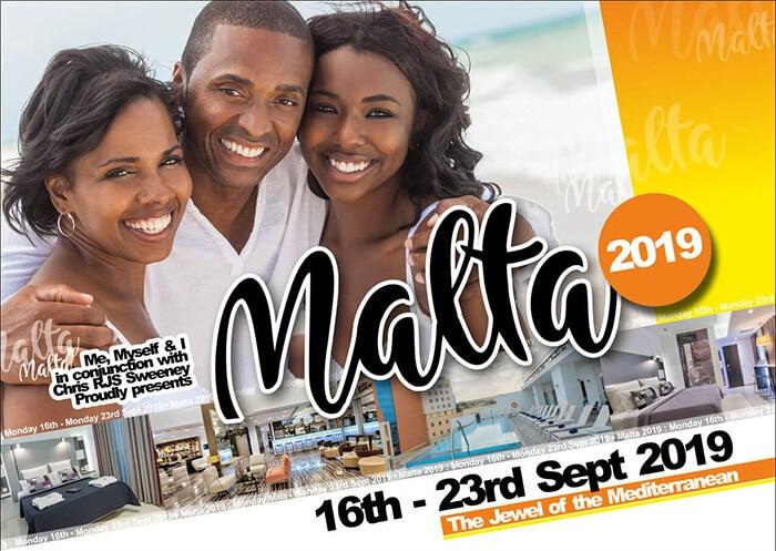 MeMySelf&I Malta Holiday 2019