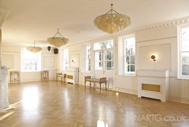 inside mansion house dance floor