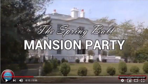 mansion ball video ad