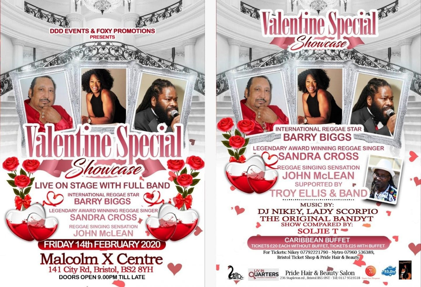 A Valentine's Special Showcase – Friday 14th February 2020